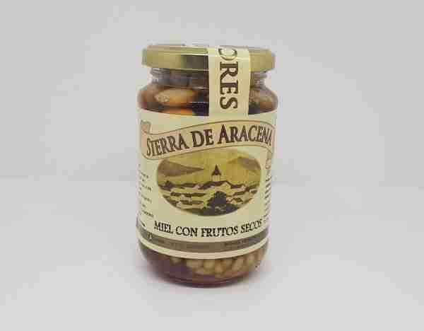 miel con frutos secos 500 grs